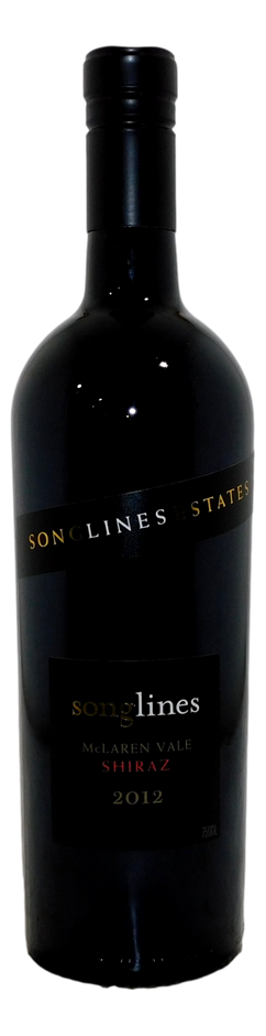 Songlines Shiraz 2012 (6x 750mL), McLaren Vale, SA. Cork