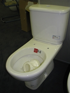 Toilet Suite Kohler Calypso S Trap Pan And Cistern White