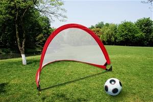 Portable Kids Soccer Goals Set & 2 Pop U