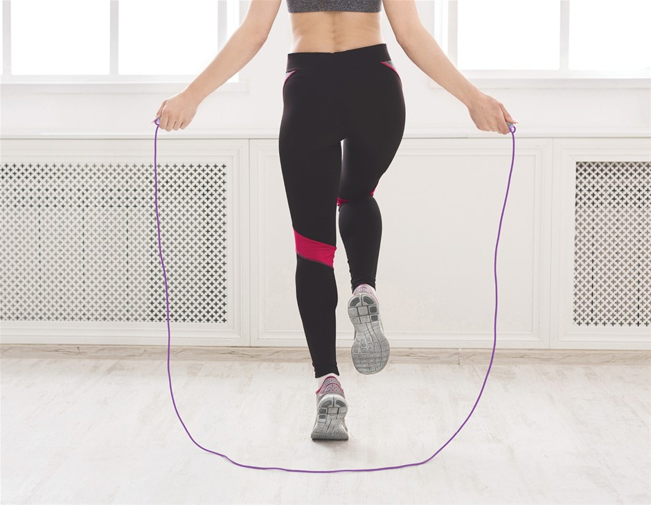 Digital LCD Skipping Jumping Rope - Purple