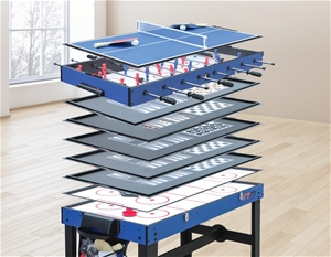 4FT 12-in1 Combo Games Tables Foosball S