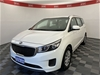 2017 Kia Carnival S YP Automatic 7 Seats People Mover