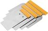 3 x TOLSEN 4pc Wall Scraper Set, Sizes: 50, 80, 100 & 120mm. Buyers Note -
