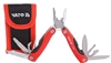 2 x YATO Multi-purpose Stainless Steel 9pc Pliers c/w Pouch. Buyers Note -