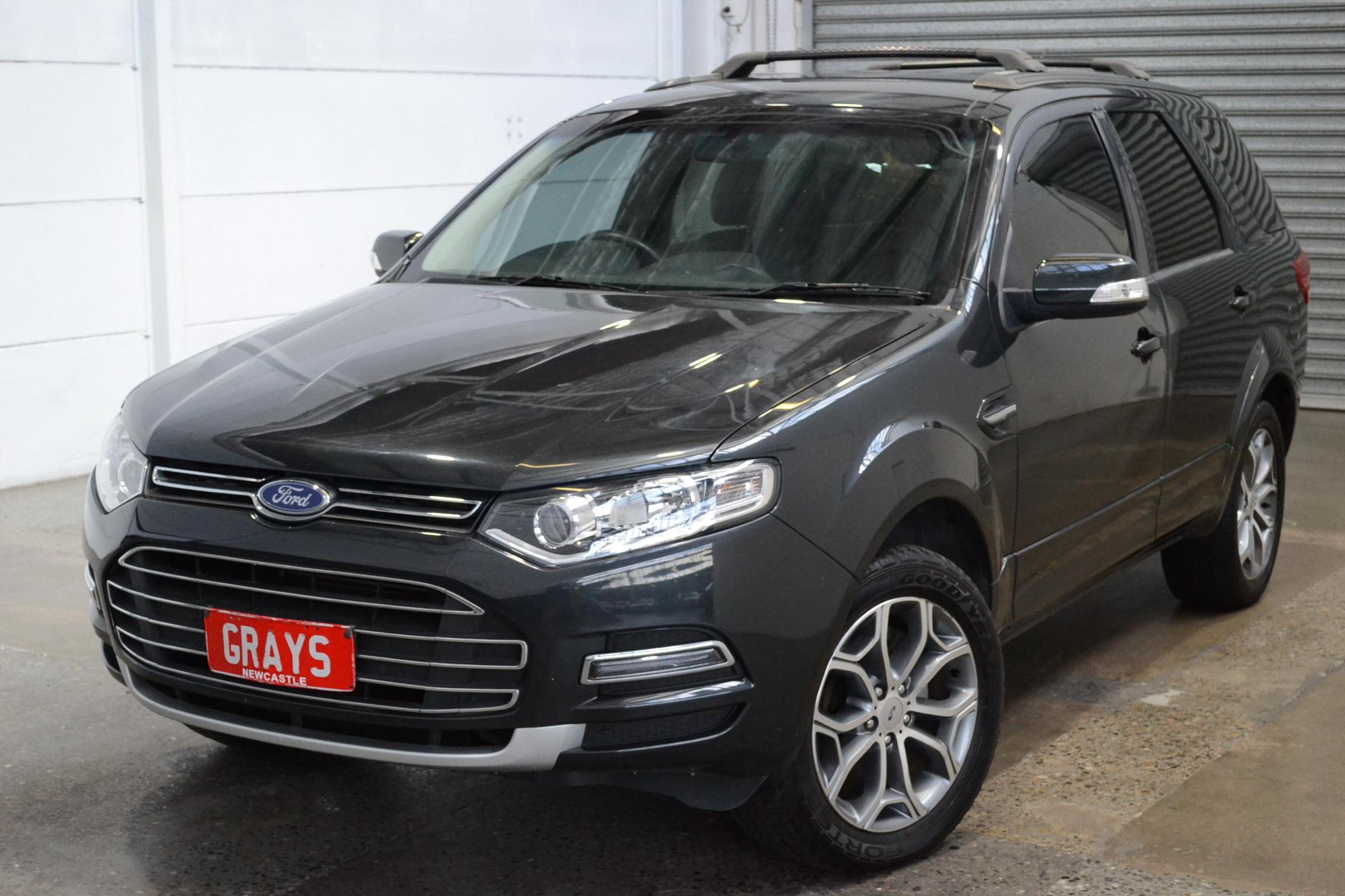 2013 Ford Territory Titanium (RWD) SZ Turbo Diesel Automatic 7 Seats Wagon