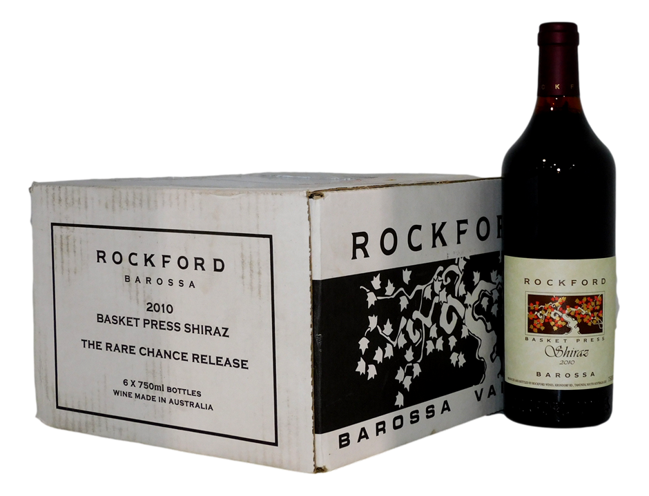 Rockford Basket Press Shiraz 2010 (6x 750mL)