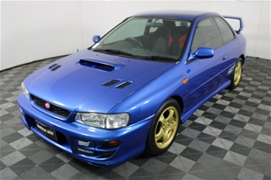 1998 SUBARU IMPREZA WRX STi MANUAL COUPE