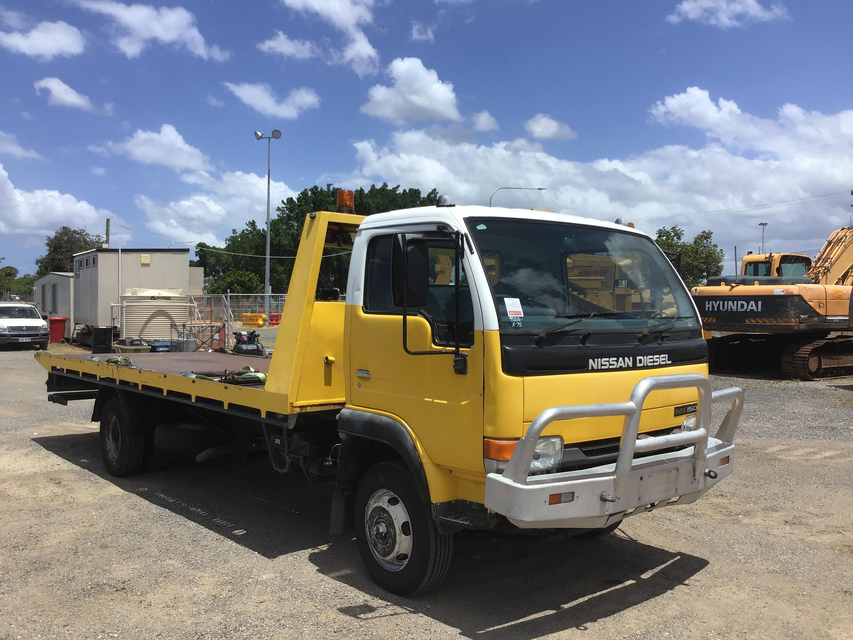 2002 U.D. MK 150 4 x 2 Tilt Tray Truck