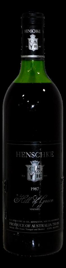 Henschke Hill of Grace Shiraz 1987 (1x 750mL), SA. Cork