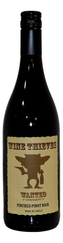 Wine Thrieves Wanted Pinched Pinot Noir (6x 750mL), Chile