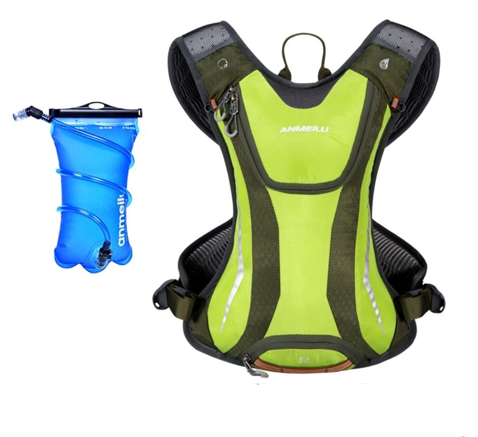 Anmeilu 5L Waterproof Nylon Sports Water Backpack