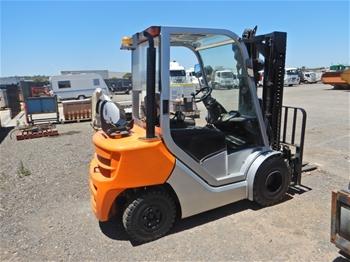 2015 Still RC41-25T 4 Wheel Counterbalance Forklift