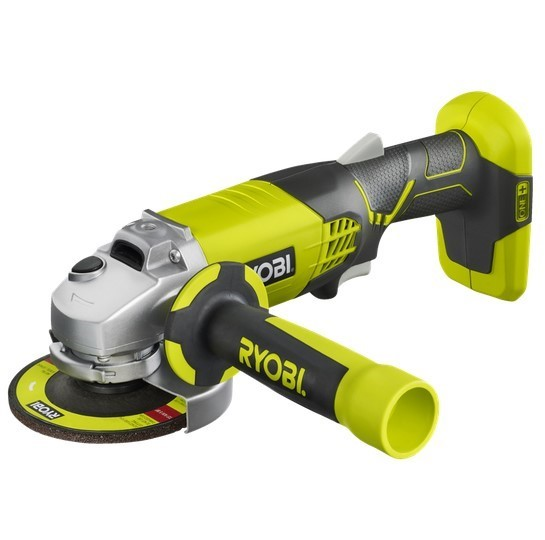 RYOBI 18V 115mm Angle Grinder. Skin Only. Buyers Note - Discount Freight Ra