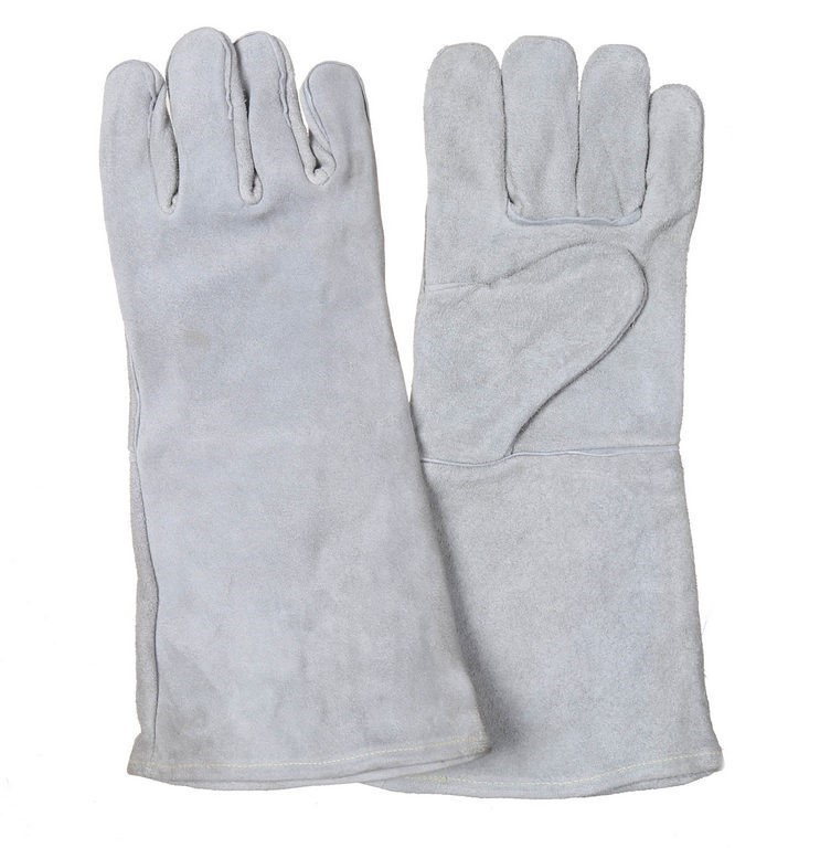 5 Pairs x Chrome Leather Welder`s Gloves, Size L. Buyers Note - Discount Fr