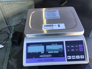 Sprintquip SQ-1500 Coin Checker Scales
