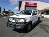 Toyota Hilux KUN26R 4WD Manual Dual Cab Ute