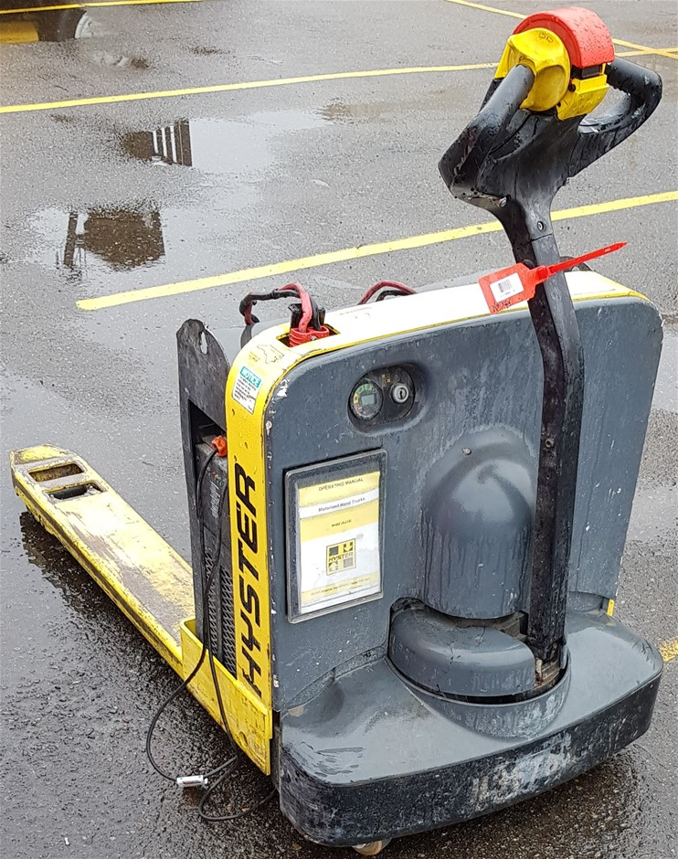 2012 Hyster W40Z Electric Walk Behind Pallet Mover