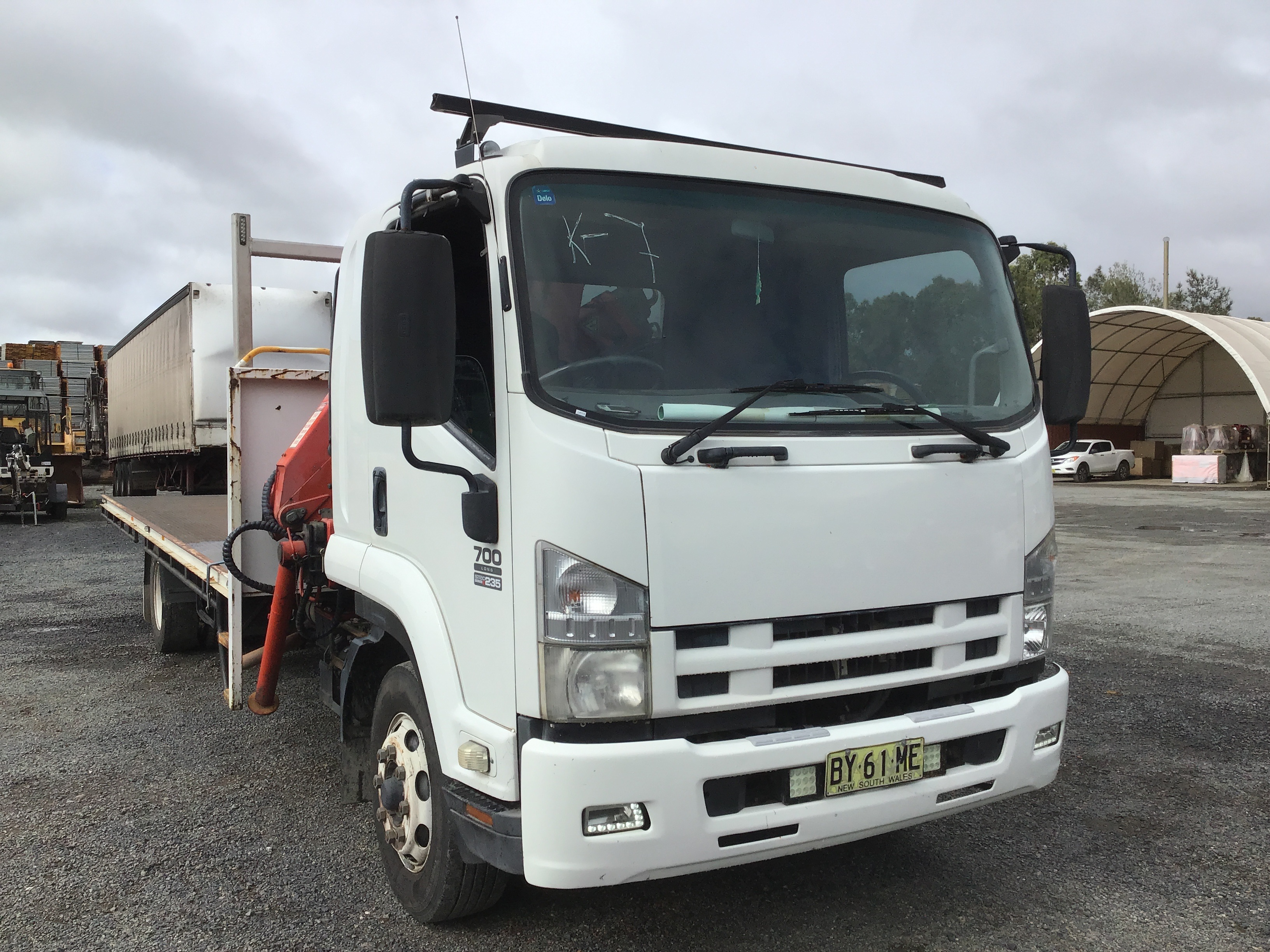 2008 Isuzu FSR 700 Long Sitec 235 Series II 4 x 2 Tray Body Truck