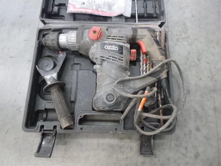 Ozito Rotary Hammer Drill Kit