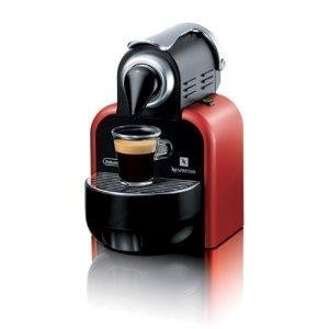 Delonghi Nespresso Essenza Red Coffee Machine. Model: EN95R Auction GraysOnline Australia