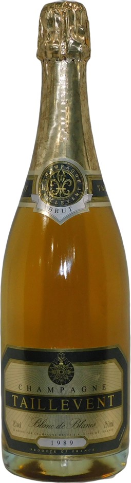 Deutz Taillevent Blanc de Blancs Brut Champagne 1989 (1x 750mL), France