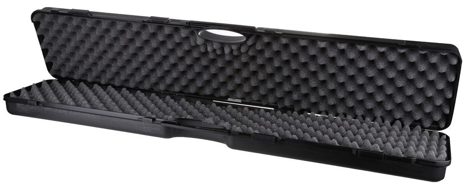 PVC Hard Gun Case, 1200 x 240mm x 140mm, Foam Insert Padding. Buyers Note -