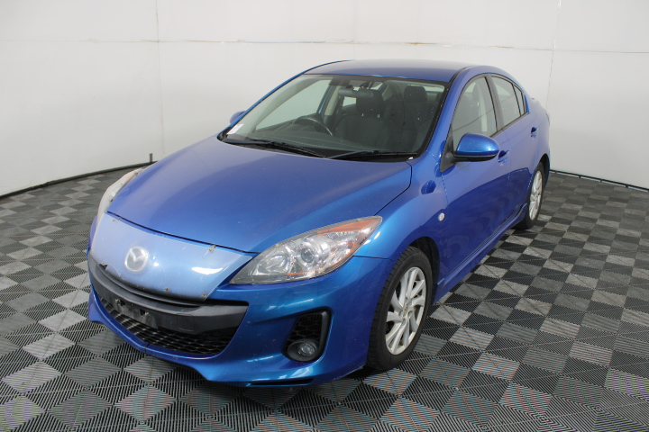 2011 Mazda 3 Diesel BL Turbo Diesel Manual Sedan