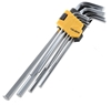 2 x TOLSEN 9pc Extra-Long Arm Hex Key Sets 1.5mm to 10mm. Buyers Note - Dis