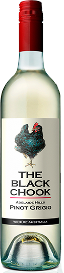 Black Chook Pinot Grigio 2020 (6x 750mL), Adelaide Hills, SA