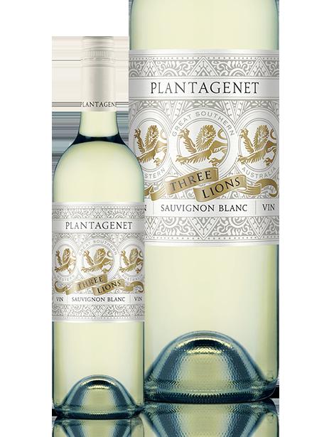 Plantagenet Three Lions Sauvignon Blanc 2020 (12x 750mL), WA