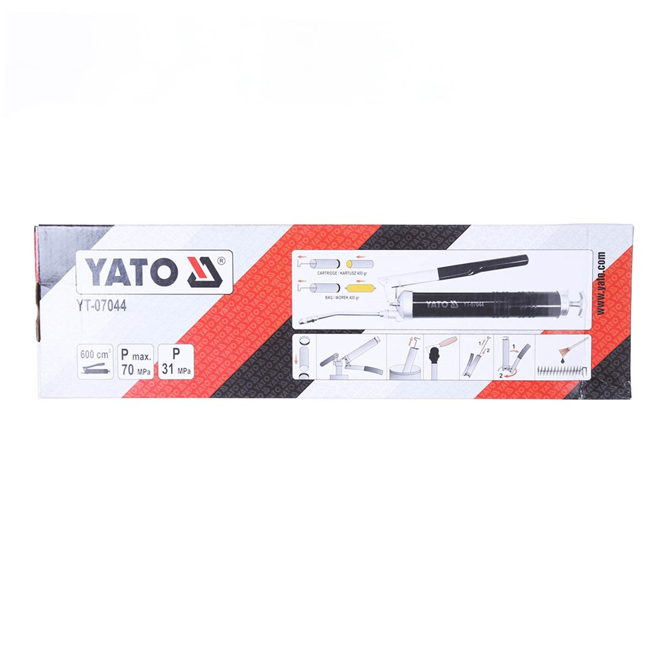 YATO Grease Gun 400g Cartridge. Buyers Note - Discount Freight Rates Apply