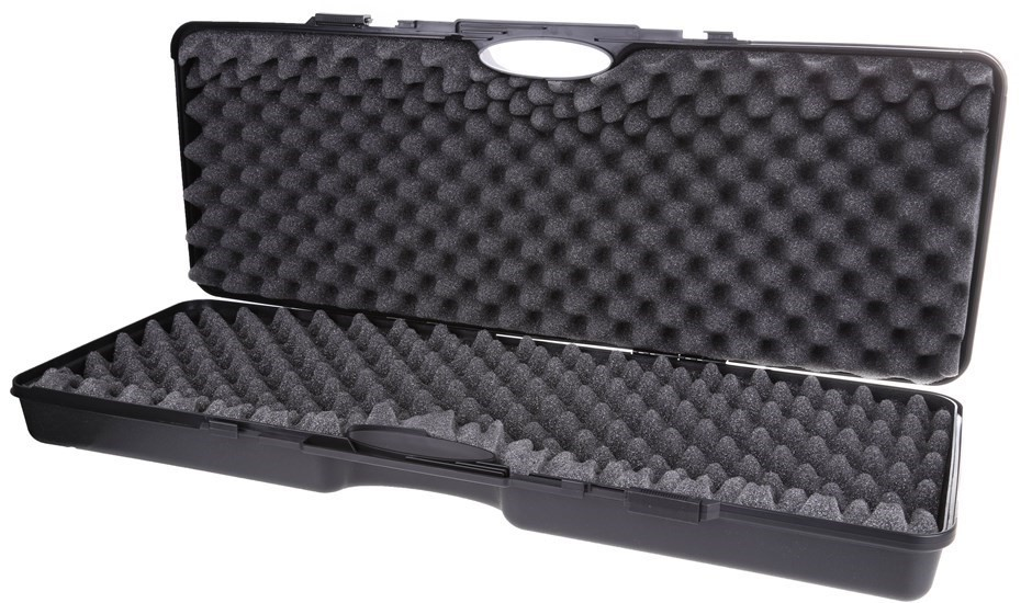 TSUNAMI Hard Gun Case, ABS Plastic, Internal Wavy + Cube Foam 870(L) x 320(
