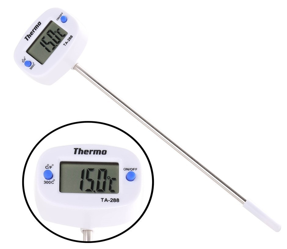 Digital Stem Thermometer -50c to +300c Buyers Note - Discount Freight Rates