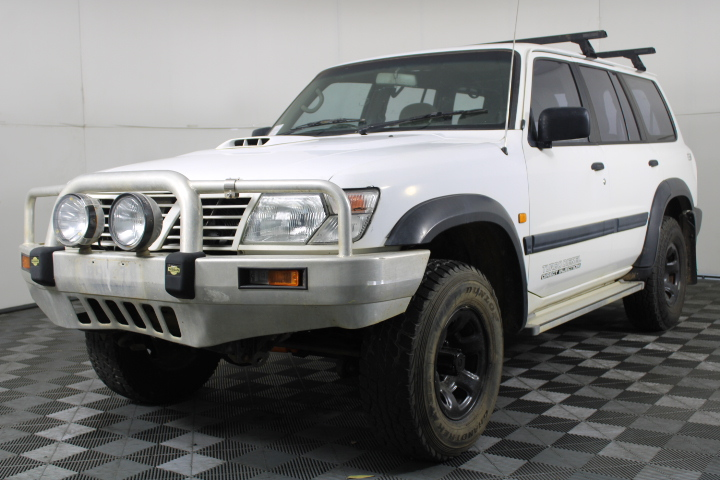 2000 Nissan Patrol ST (4x4) GU II Turbo Diesel Manual 7 Seats Wagon