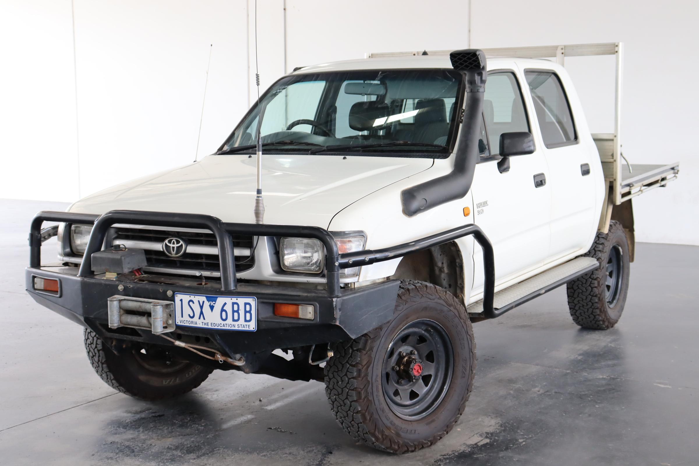 1998 Toyota Hilux (4x4) Manual Dual Cab