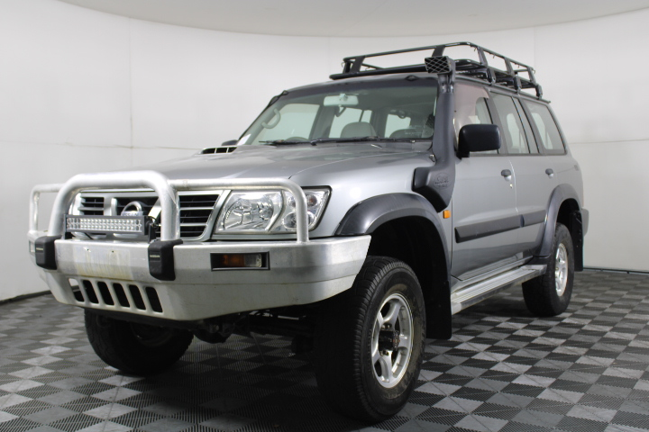2003 Nissan Patrol ST 3.0 GU II Turbo Diesel Manual Wagon