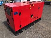 Unused 25kVA Generators - Townsville