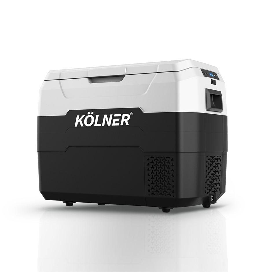 Kolner 40L Portable Fridge Cooler Freezer Camping Refrigerator Black