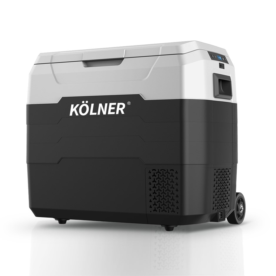 Kolner 50L Portable Fridge Cooler Freezer Refrigerator w/ Trolley
