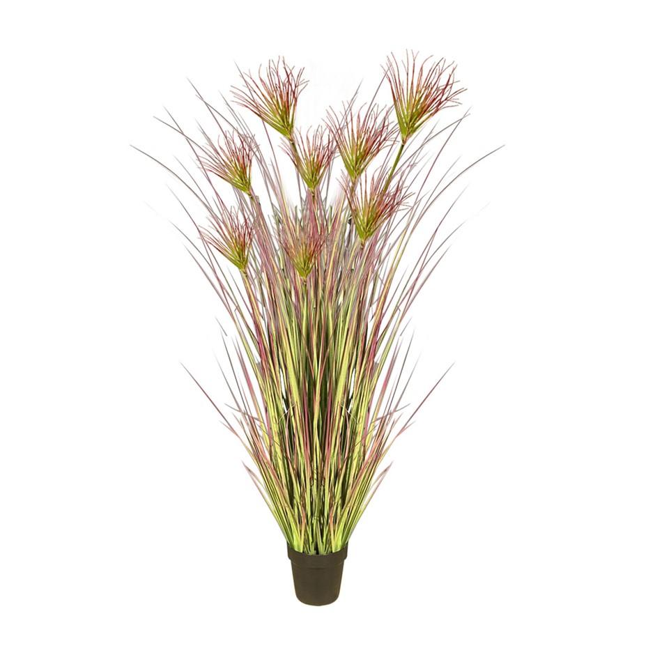 SOGA 120cm Artificial Potted Papyrus Plant Tree Fake Simulation Decor