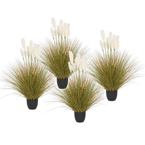 SOGA 4X 137cm Artificial Potted Reed Bul