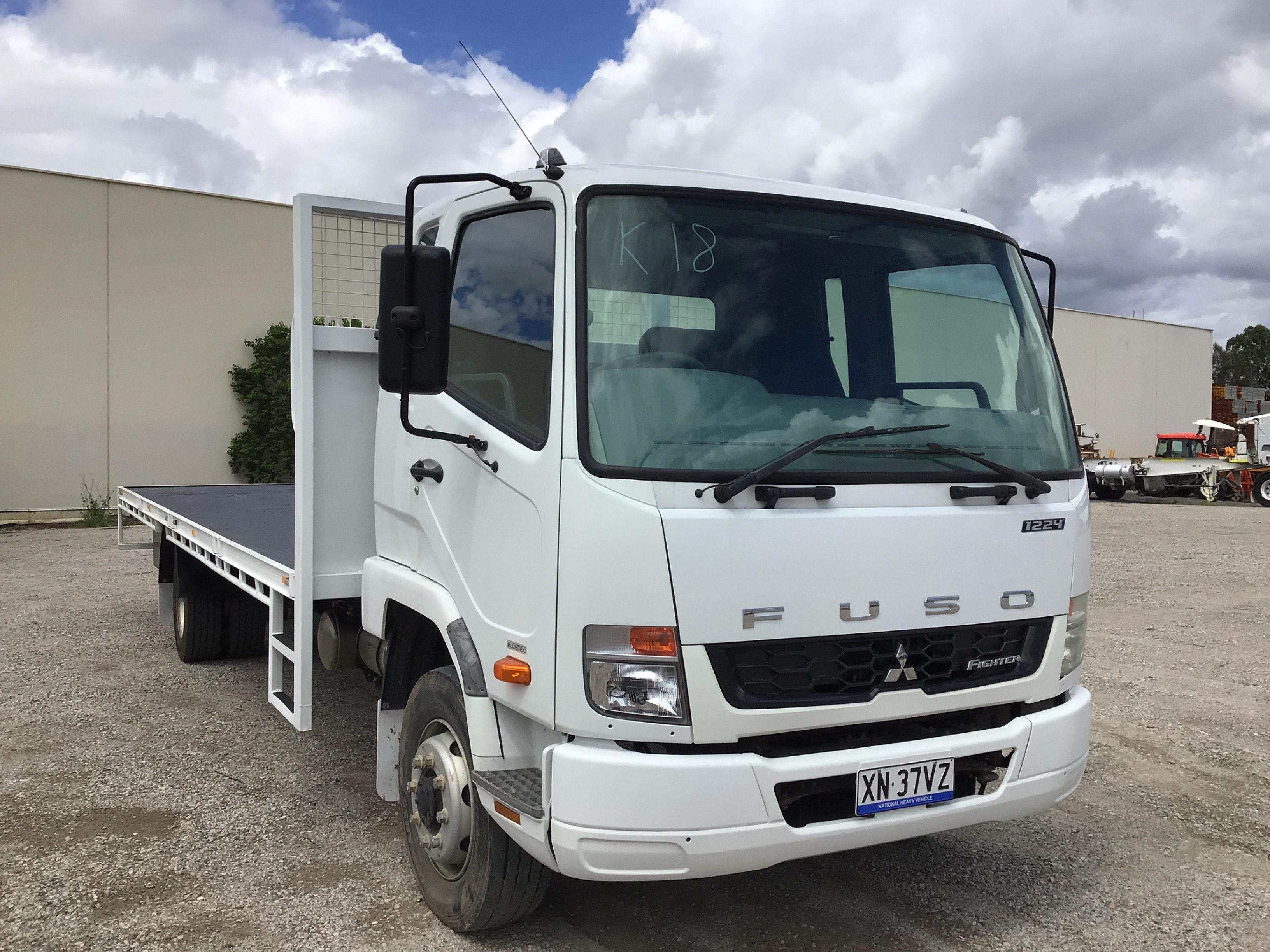 2016 Mitsubishi Fighter Fuso 1224 4 x 2 Tray Body Truck
