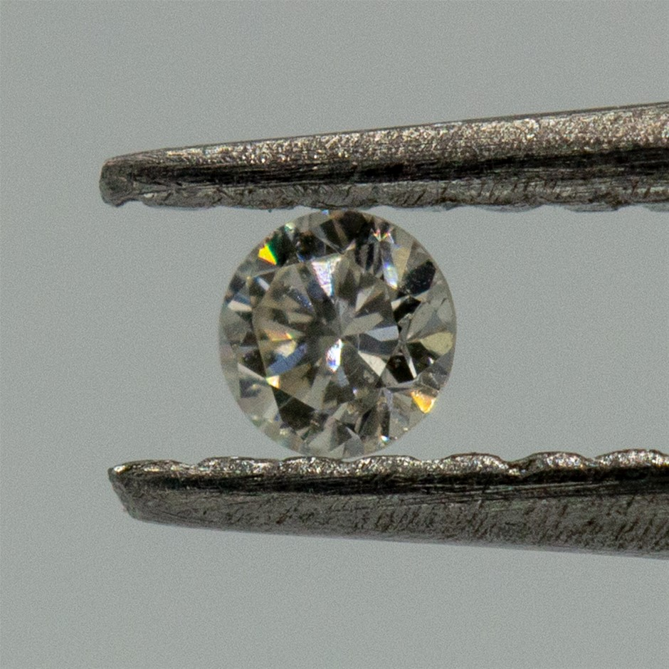0.02ct Loose Diamond