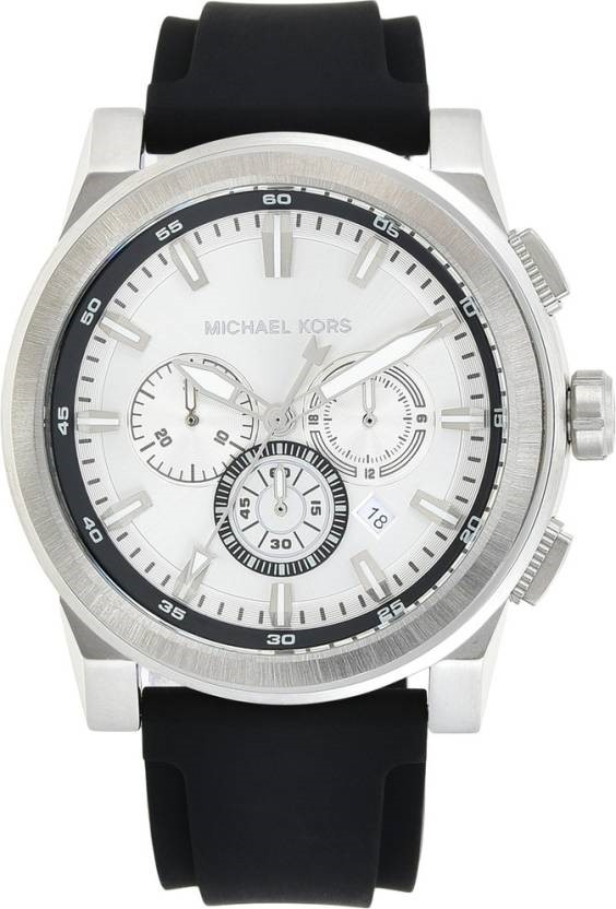 Smart and stylish new Michael Kors stainless steel men's watch.