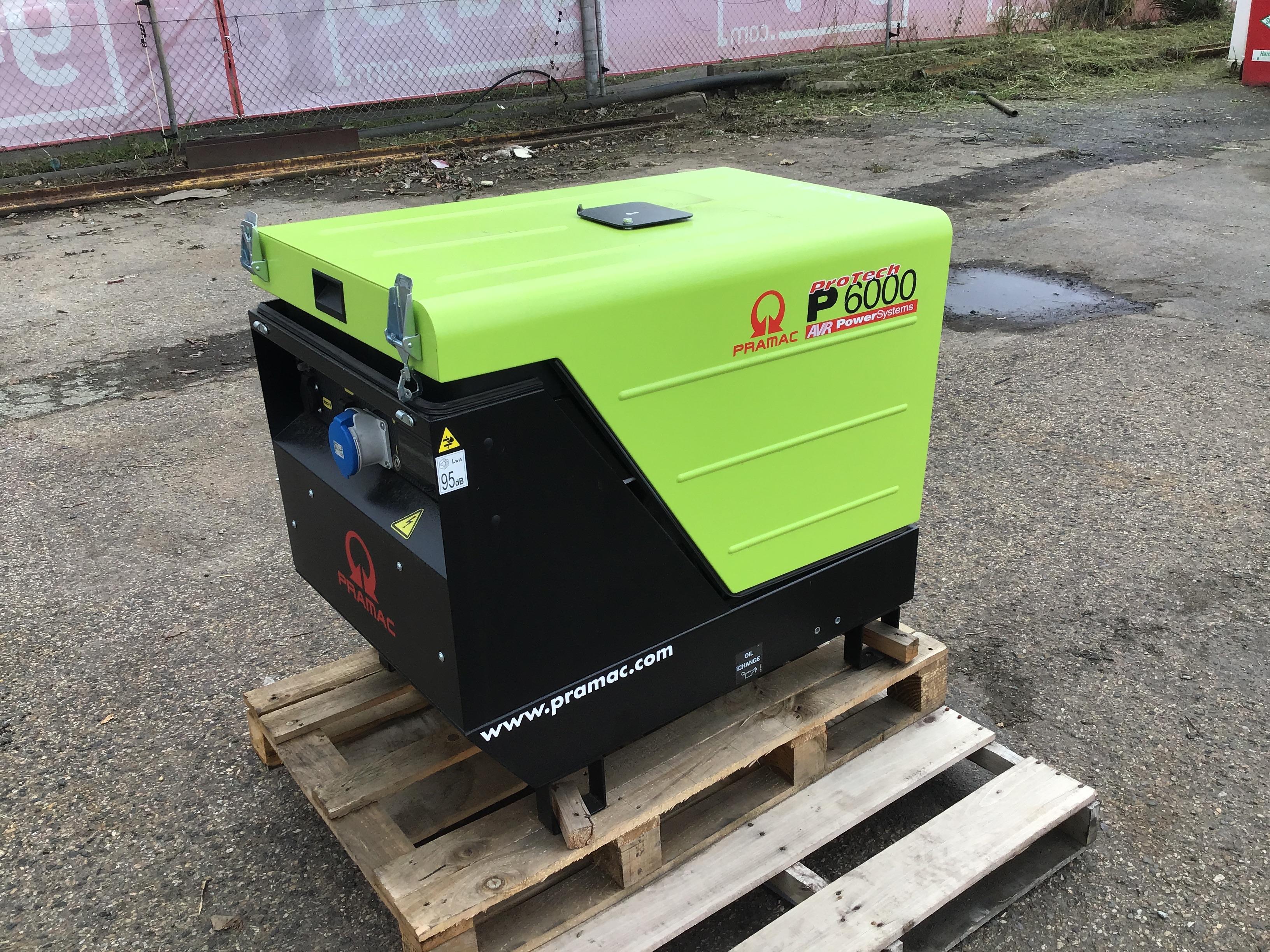 2019 Pramac P6000 6kVA Generator
