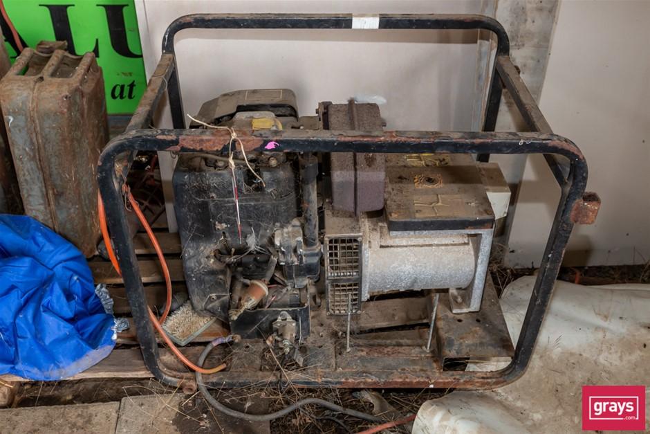 5.5KVA Portable Petrol Generator