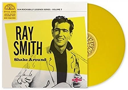 RAY SMITH ``Shake Around``, VINYL. LIMITED EDITION. Buyers Note - Discount