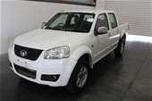 Unreserved 2013 Great Wall V200 4X2 T/D Manual Dual Cab