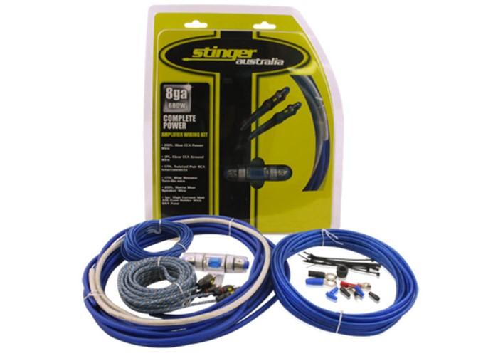 Stinger STK8 Amplifier Wiring Kit 8 Gauge