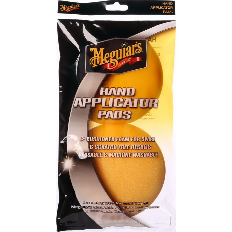 10 x Meguiars Hand Applicator Pad 100mm Twin Pack APPAD